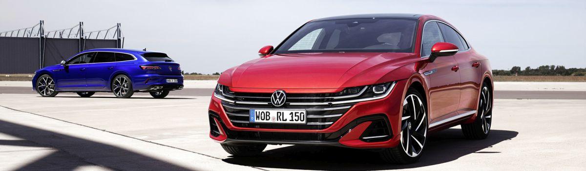 Volkswagen Arteon Shooting Brake R and Arteon R-Line