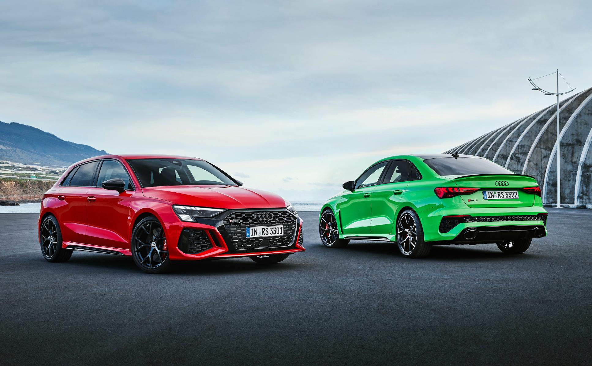 Audi RS 3 Sportback un  Audi RS 3 Sedan